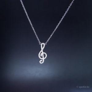 Музыкальный кулон